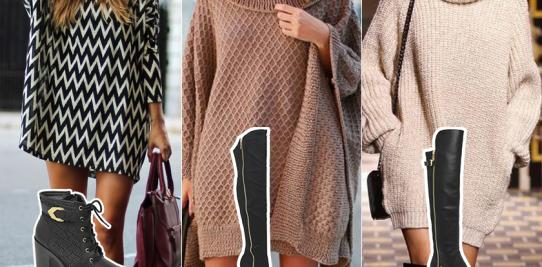 Sweater dress: como usar