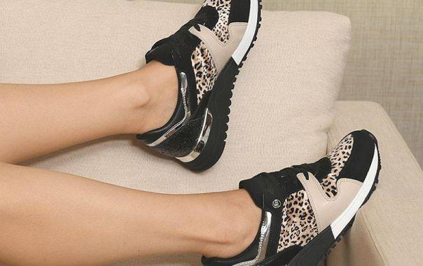 Casual animal print é perfeito para quem ama moda. Garanta o seu!  Ref. 19-2806