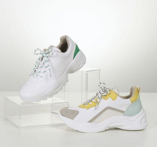Casual branco com cores incríveis. Escolha o seu queridinho! ? #ViaMarte #summershoes #newin #fashionshoes #casual #sneaker Ref. 19-12201 | 19-15701