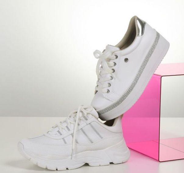 Dois modelos, um amor: casual branco Via Marte. #ViaMarte #summershoes #newin #fashionshoes #casual Ref. 19-14102 | 19-12103