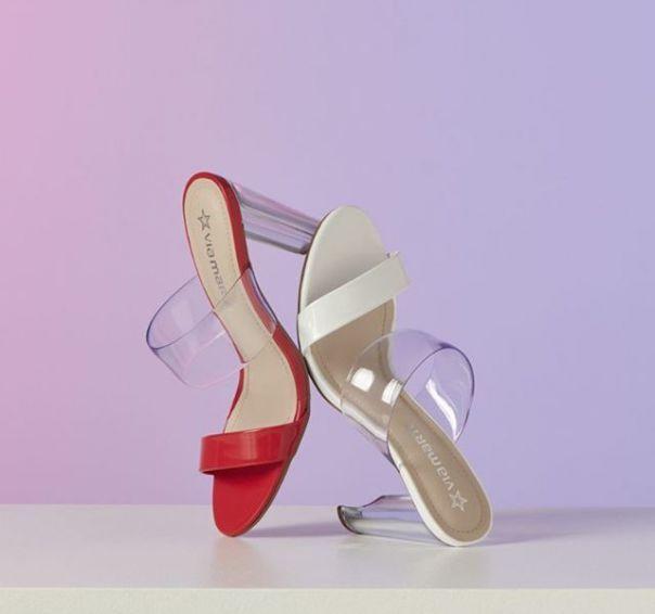 Glamour nas alturas! Escolha o seu tamanco favorito e aposte nesse HIT. ?  #Summer2020 #NewIn #ViaMarte #heels #fashionshoes Ref. 19-16366