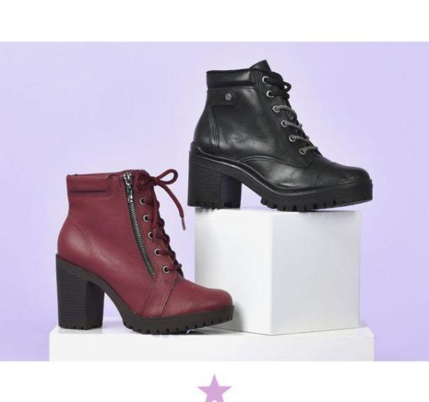 Conte para gente: qual o seu coturno Via Marte favorito? #ViaMarte #boots #fashionshoes #moda ? Ref. 20-3702 | 20-7901