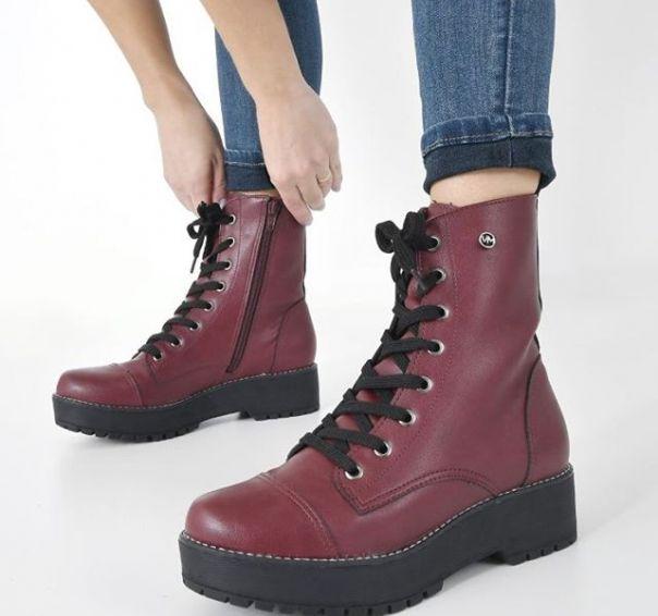 O coturno queridinho das fashionistas é perfeito para começar o inverno com muita atitude e estilo. ? #ViaMarte #boots #fashionshoes #booties Ref. 20-7303