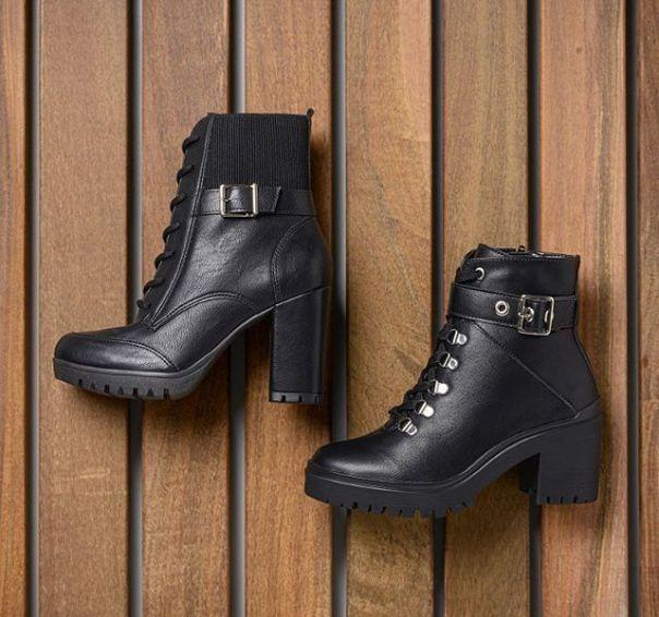 Must have da temporada: coturnos com detalhe em fivela da Via Marte. Não fique sem o seu! ? #ViaMarte #boots #fashionshoes #trend #style #NewIn Ref. 20-3602 I 20-7904